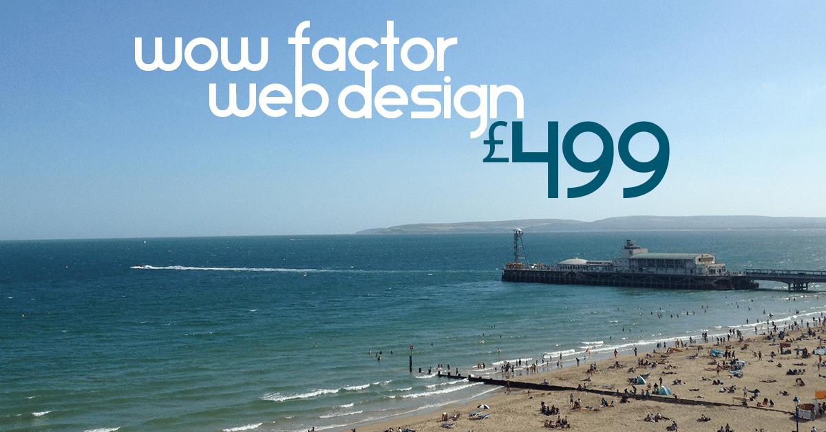 Web Design Offer £499