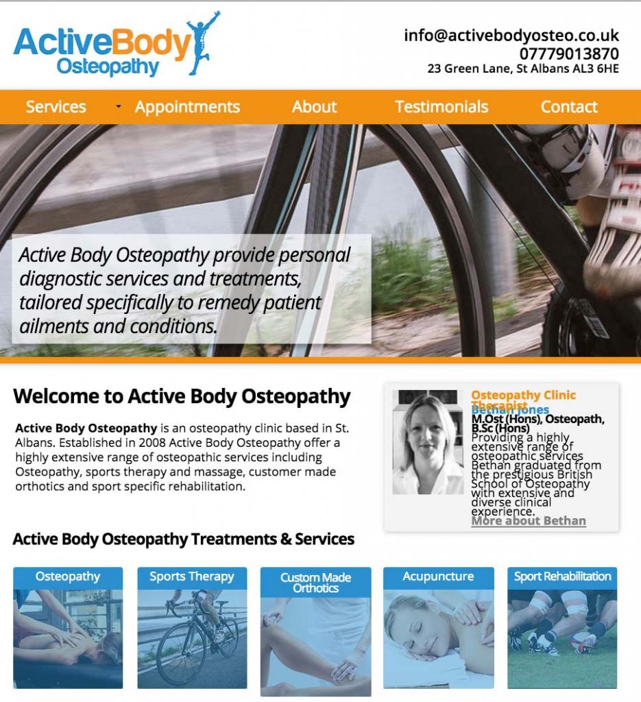 Active Body Website