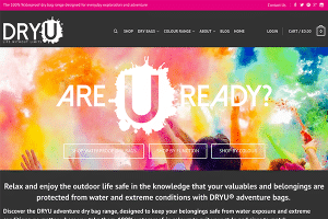 DRYU Website Homepage Image