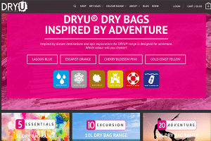 DRYU Product Landing Page image