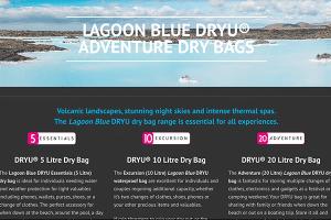 DRYU Product range description area