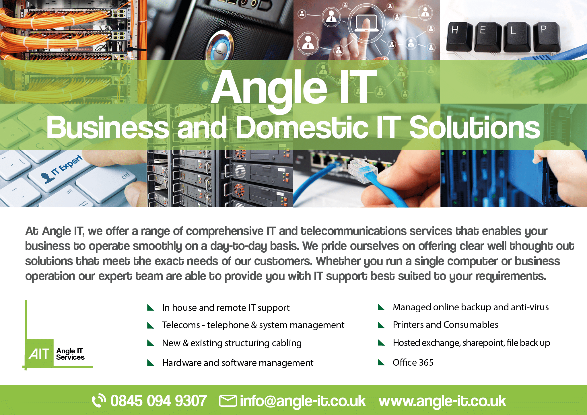 Angle IT Flyer Side 1