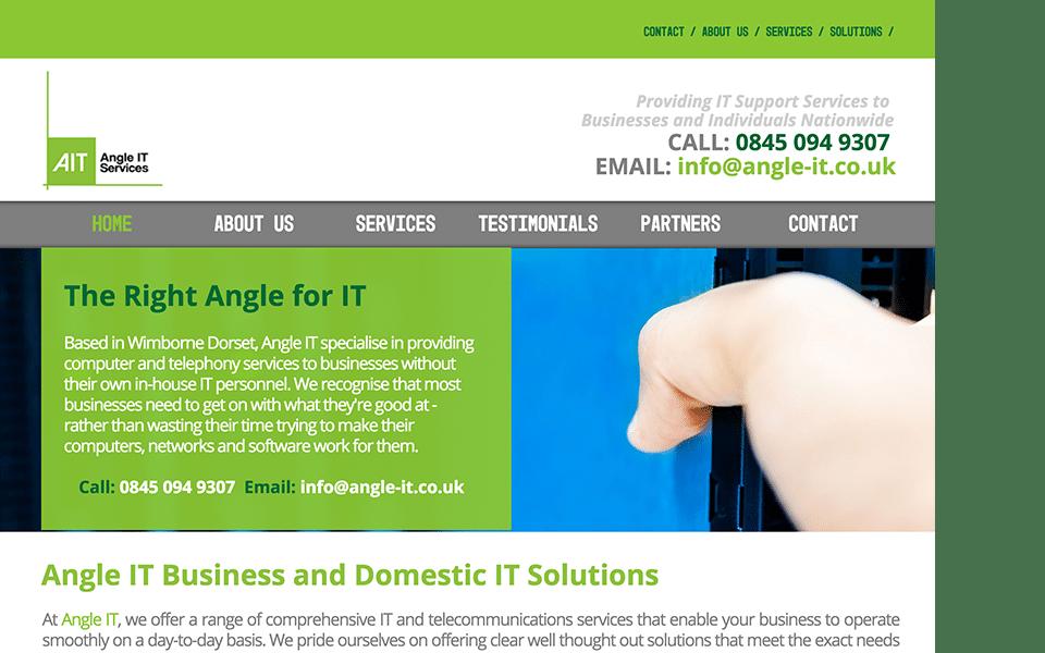 Angle IT Homepage Image