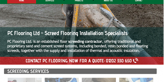 PC Flooring Homepage
