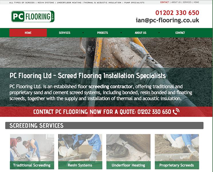 PC Flooring Homepage