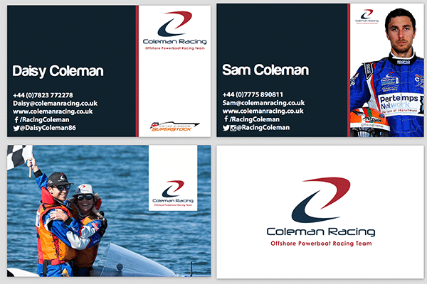 Business Cards Coleman 2017