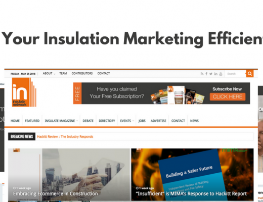 Insulation Website Marketing