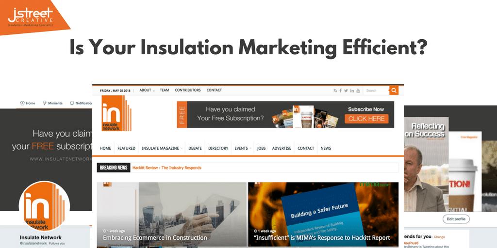 Insulation Website Marketing